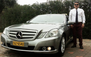 Tranfers in luxurious MERCEDES taxis